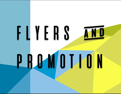 flyers and promotion