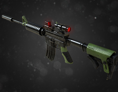 Gun long range stealth transformation