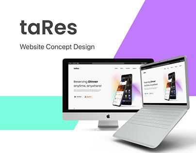 Website Presentation - taRes