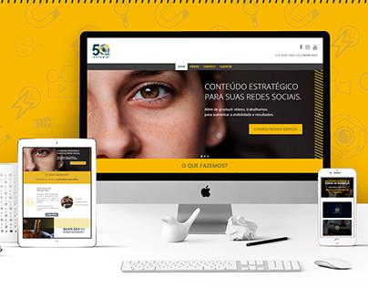 Estúdio 50mm - Web design