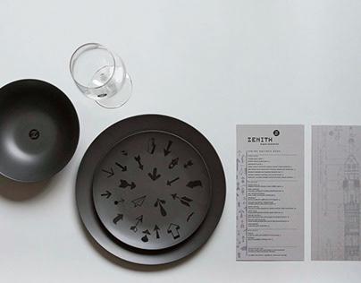 Zenith Restaurant Branding & Identity