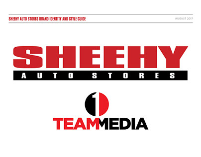 Sheehy Auto Stores/1 Team Media Style Guide