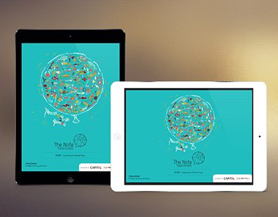 The Note, primera revista chilena 100% para iPad