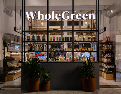 Whole Green - Healthy Market
