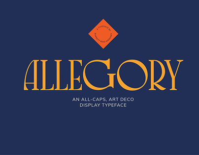 Allegory - Display Typeface