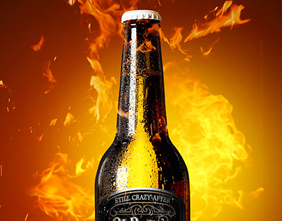 Beer Bottle Photo Manipulation