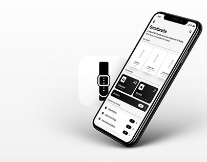 Bandbreite (App) — #AppleWatchBands