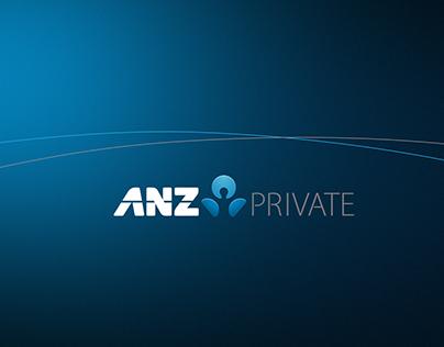 ANZ Private - branding