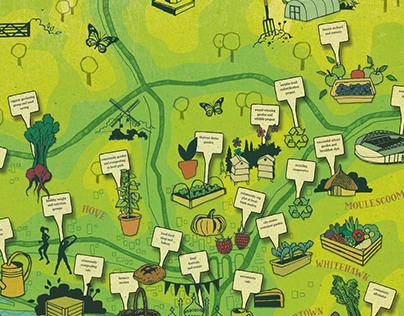 Brighton & Hove Community Food Map