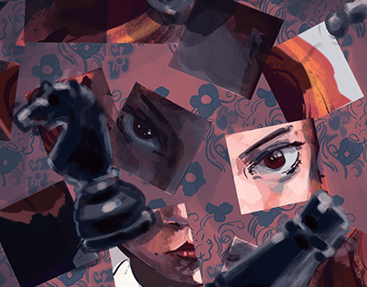 The Queen's Gambit Illustration (personal project)