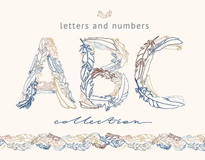 Feather Monograms