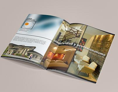 Diseño de Publicidad para Revista de Arquitectura.