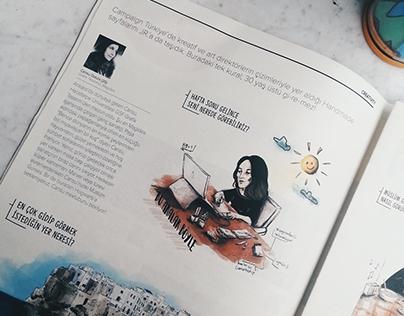 Illustration for Campaign Jr Magazine