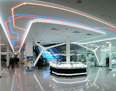 Gorodok Gallery interior