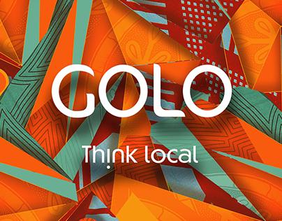 GOLO Think Local - Key Visual 2016