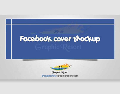 PSD Facebook covers mockup Free