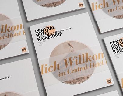 Central-Hotel KAISERHOF | Editoral Design