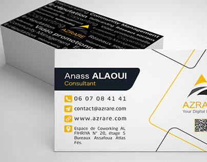 Azrare Business Card
