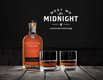 Pendleton Midnight 90 Proof Whisky // Brand