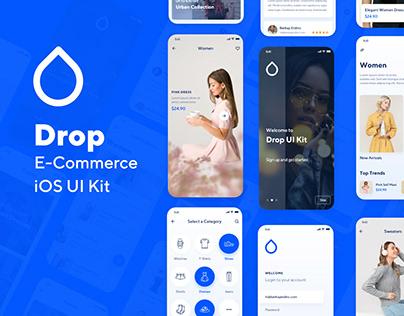 Drop iOS UI Kit