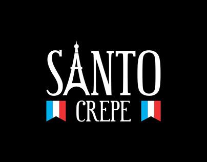 Santo Crepe | Logotipo