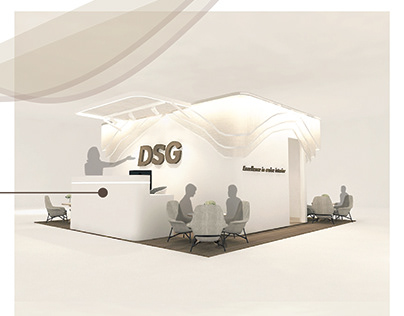 Booth Design Project for cruise interior