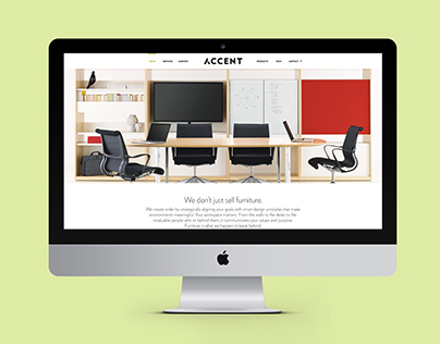 Accent Website Redesign