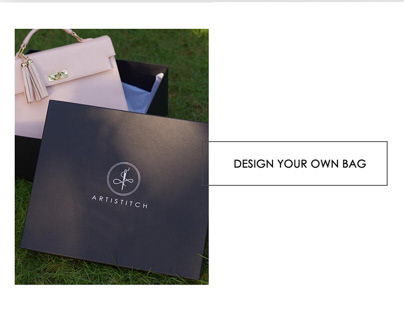 Artistitch Handbag -Branding and Packaging