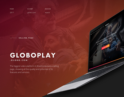 Globo Play: Selling Page