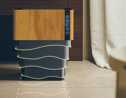 """Air Purifier Design Concept -""""Owl Air"""""""