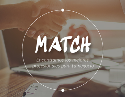 MATCH. Startup Weekend Project.