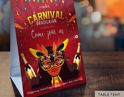 Flyers & Table Tent Designs