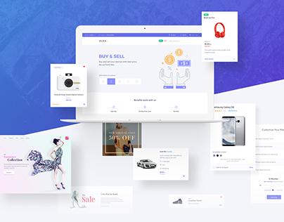 Dlex E-Commerce UI Kit