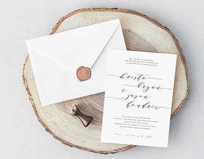 Various Wedding Collateral | Invites, Save the dates