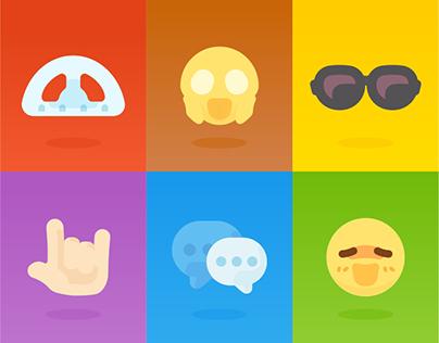 Logo / Icon / Emoji for OnionMath Communication (2D)