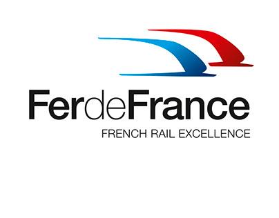 ALSTOM TRANSPORT - Logo Fer de France