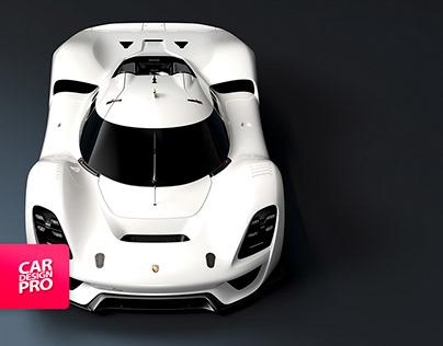PORSCHE 908/04 VISION GT - Making Of
