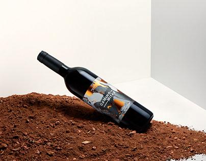 Camino Mitad Wine Label