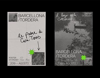 Poster Barcellona/Tordera