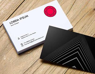 Minimal Business Card Mock-up PSD Template