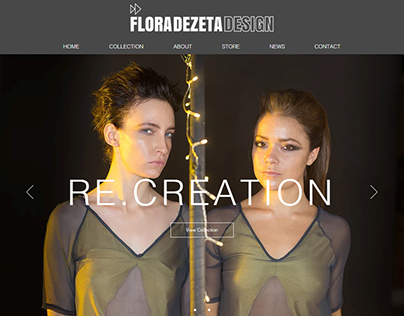 Flora Dezeta Website