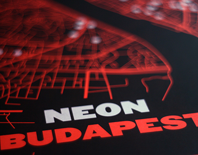 Neon Budapest poster & guidebook