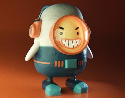 The Mini Astronaut