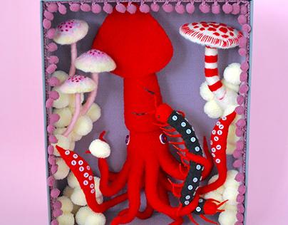 Red Squid Box