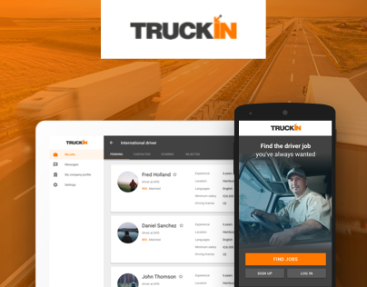 Truckin: Truck Drivers' New Job Board