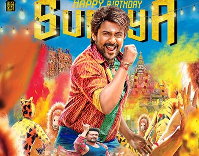 suriya birthday poster
