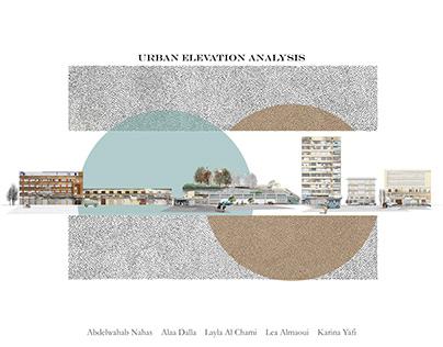 Urban elevation Analysis, Al-Tal, Tripoli, Lebanon