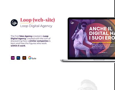 Loop Digital Agency web-site