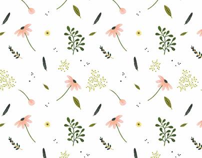 LITTLE FLOWERS - pattern design