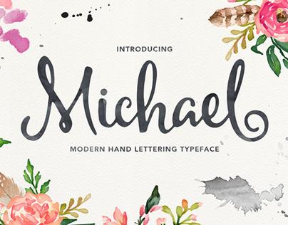Michael Font Script